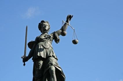 Retribution of Justitia