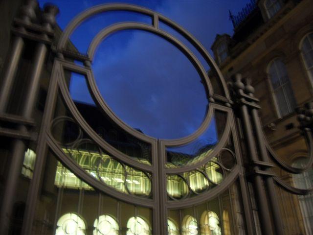 Edinburgh Sheriff Court Looking Glass