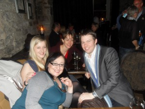 @Legally_Blonde8, @LegalEagleMHM, Kirsten and @WardblawG at Tweetup