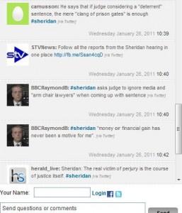 Sheridan Trial STV TwitterFeed