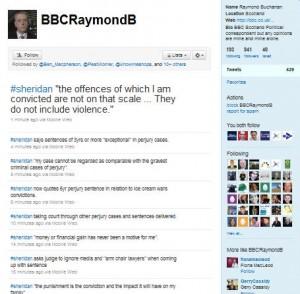 Sheridan Trial BBC Twitter Feed Raymond Buchanan