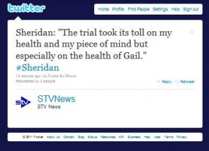 Sheridan Trial Twitter Piece Of Mind