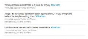 Tommy Sheridan Trial Twitter STV Sentencing