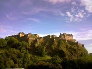 Edinburgh Castle, Background To ScotsLawBlog's Twitter Account