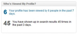 Linkedin Tip 10: Monitor who is viewing your profile