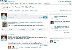 Linkedin Tip 3: Engage in Relevant Discussions