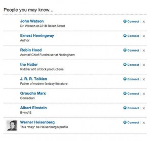 Linkedin Tip 4: Find Relevant Contacts