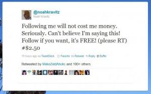 Noah Kravitz Tweet