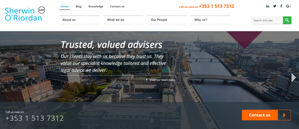 Ireland-Solicitors-Web-Design